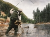 Fishing The Gallatin-SOLD